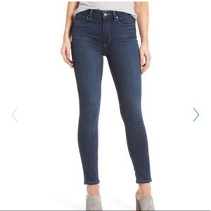 PAIGE High-Rise Hoxton Ankle Skinny Jean